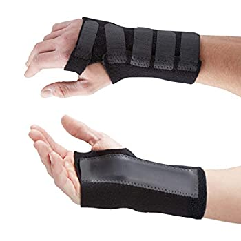Peut être utilisée pour plusieurs pathologies. Si vous souffrez d'une entorse du poignet, de microtraumatismes répétés, de douleurs articulaires, de tendinite du poignet, du syndrome du canal carpien ou d'une fracture du poignet, c'est cette attelle ...