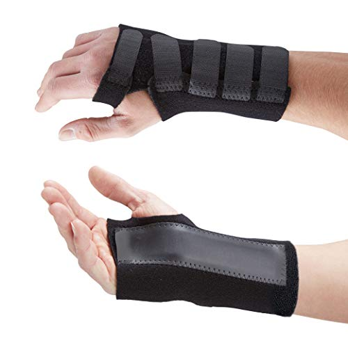 Actesso Advanced Wrist Support Brace - Carpal Tunnel Splint - Relieves Wrist Pain, Sprains, Tendonitis and RSI (XL, Left)