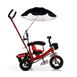 Hot Sale! Baby Stroller Umbrella, Iuhan Baby Stroller Cover Parasol For Sun Rain Protection UV Rays Outdoor Umbrella (black)