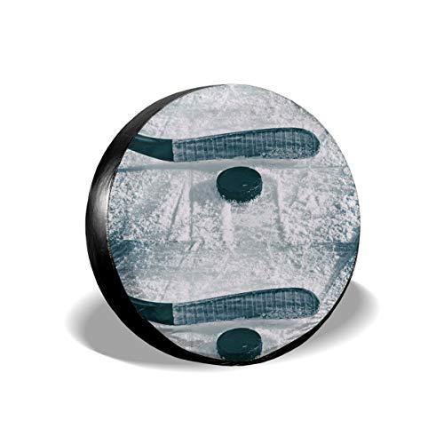 Sootot Reserverad Reifen Abdeckung Taschen Eishockey Reserverad Abdeckung Universal Fit Reserverad Abdeckung Fit für viele Fahrzeuge 15 Zoll