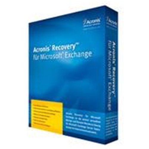 Acronis Recovery for MS Exchange for SBS incl. AAP Box DVD
