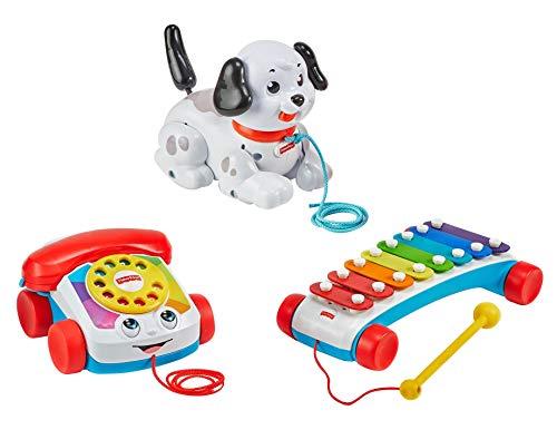 Fisher-Price Pull-Along Basics Gift Set 3 Infant Pull Toys
