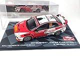 OPO 10 - Coche 1/43 Mitsubishi Lancer Evolution X Rallye Monte-Carlo 2014 Rendina (BR16)