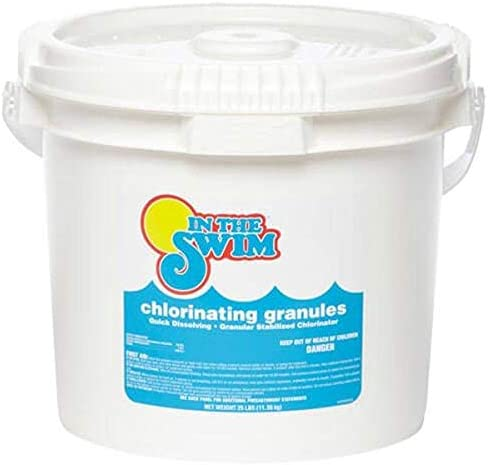In The Swim Sodium Di Chlor Chlorine Granular 5 Pound Bucket product image
