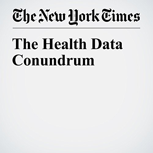 The Health Data Conundrum audiobook cover art