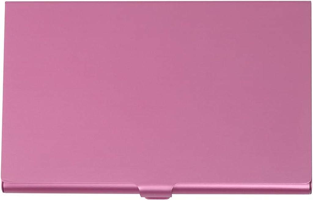Professional Metal Business Card Holder Stainless Steel Credit Card Holder Wallet Slim Card Carrier for Men & Women