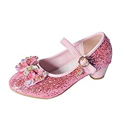 Pink Mary Jane Low Heels Shoes