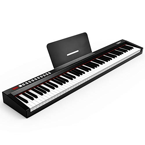 88-Key Digital Piano Keyboard with Sustain Pedal, ingbelle Portable Electric Piano for Teaching,Powerful Educational Features for Beginner