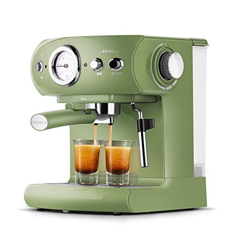 ZHHAOXINPA Ekspres do kawy espresso, 19 bar, ekspres do kawy cappuccino, 960 W, z marszczeniem do spieniania mleka, do domowego biura