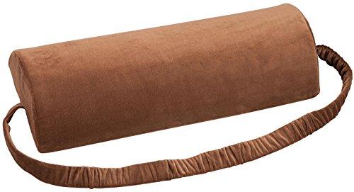 WalterDrake Multi-Purpose Recliner Cushion – 100% Polyester Velour Recliner Pad Cover – Head & Neck Support, Lower Back Support or Lumbar Support Cushion