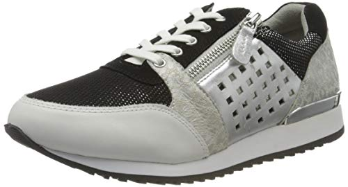 Caprice Ginga, Zapatillas Mujer, Negro (Black/White 15), 37 EU