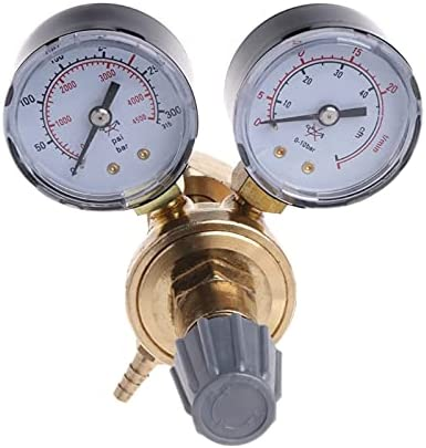 WFAANW Very Free shipping / New Durable Argon CO2 Gauges M Ranking TOP1 Flow Reducer Mig Pressure