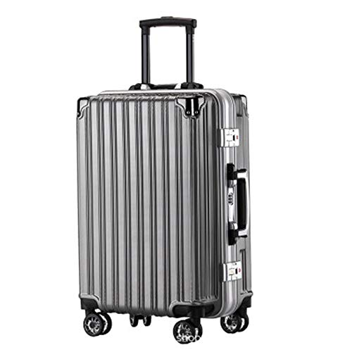 Luggage Trolley Case PC Wear-resistant 20/22/24/26 Inch Suitcase Universal Wheel Boarding Case Business Travel Luggage For travel and business trips (Color : C2, Size : 26inch)