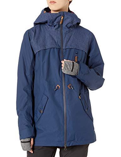 Roxy Damen Stated Jacket Jacke, Mittelalterblau, Small