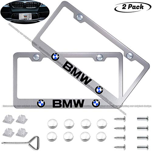 BMW Logo License Plate Covers