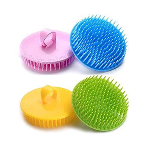 Scalp Scrubber Hair Scalp Brush Scalp Massager Hair Growth Dandruff Brush for Men and Women The Best Invigorating Head Scrubber!