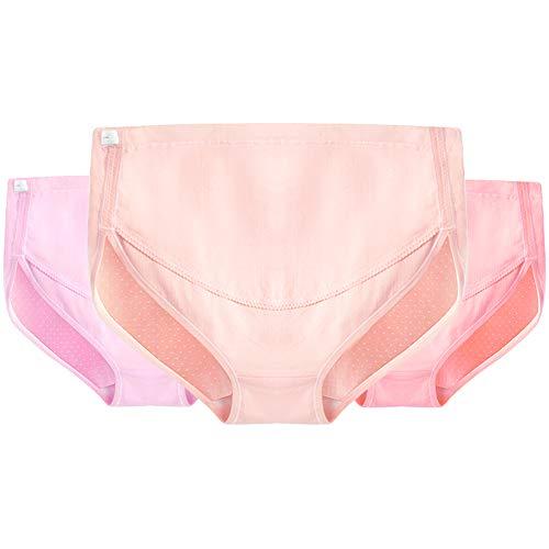 Women's clothing Culotte De Maternité,La Taille Haute en Coton Pur Soutient Les sous-VêTements Abdominaux des Femmes Enceintes, Taille Ajustable sous-VêTements Femme Grande Taille