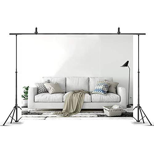 BSTKID - Sofá moderno para el hogar, interior, sala de estar, fondo de estudio, fotografía, boda, cumpleaños, día festivo, decoración del hogar (chy1088, 3 x 2,4 m)