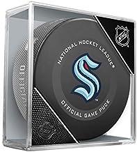 Seattle Kraken Inglasco Official NHL Game Puck in Cube - Brand New NHL Team for 2021