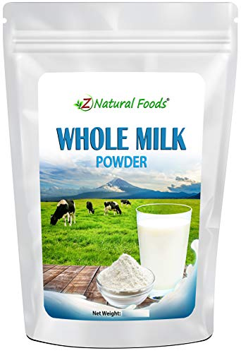 Dry Whole Milk Powder - Powdered For Storage, Cooking, Baking, Cereal, Coffee, & Tea - Non GMO & Gluten Free - 6 oz