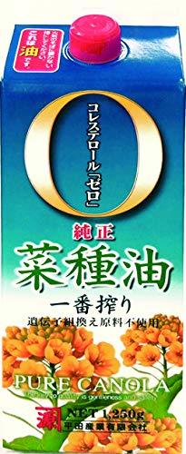 平田産業『純正菜種油一番搾り』