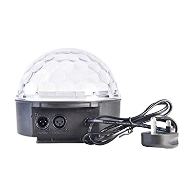 TOKUYI® Super LED Dome Light, Digital Magic Ball Effect Lighting DMX512 LED Hemisphere Light LED Laser Reflection Projector Light, Apply Lighting For DJ Disco House Party Hotel Stage Office Camping Field Music Concert Etc, Lighting For Halloween And Chris