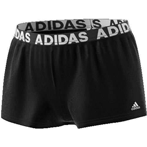 adidas Damen Beach Badeshorts, Black, S