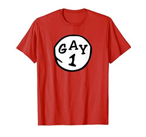 THING 1, GAY 1 AND GAY 2 - LGBT T-SHIRT