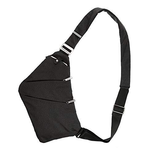 Lixada Sling Backpack Chest Bag Super Leggero Outdoor Sport Viaggi Escursionismo Anti Theft Crossbody Shoulder Pack Daypack per uomini Donne