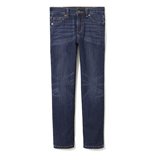 LOOK by Crewcuts Jungen Slim Fit jeans, Blau(Dallas Wash), Small (6/7)