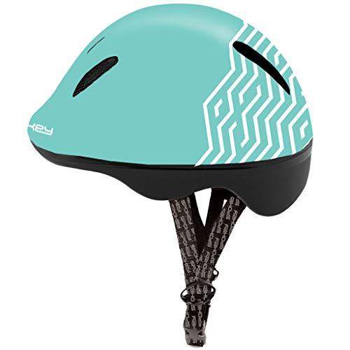 SPOKEY Fahrradhelm Kinder Radhelm verstellbare Größe | Kopfumfang 44-48/49-56 | Verschiedene Farbversionen (STRAPY2, 49-56)