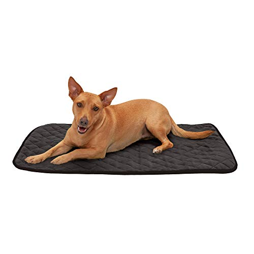 Furhaven Pet Dog Bed Heating Pad - ThermaNAP Quilted Plush...