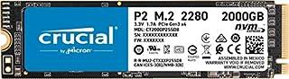 Crucial P2 2TB 3D NAND NVMe PCIe M.2 SSD Up to 2400MB/s - CT2000P2SSD8, 2 TB (B08GVDNTGJ) | Amazon price tracker / tracking, Amazon price history charts, Amazon price watches, Amazon price drop alerts
