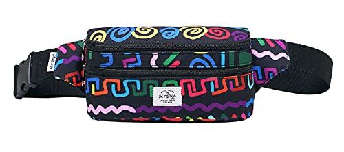 521s Precioso Bolso de Moda para la Cintura   20x6x11 cm   coloré ethnique