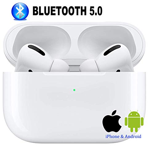 Bluetooth Kopfhörer, kabellose Kopfhörer,Touch Control Sportkopfhörer, IPX7 wasserdicht, 3D-Stereo-Rauschunterdrückung, geeignet für Airpods/iPhone/Samsung Apple AirPods Pro/AirPods