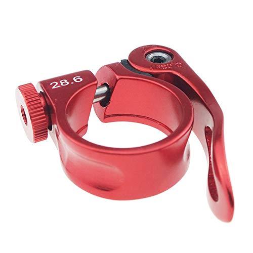 28,6 mm abrazaderas de asiento de bicicleta abrazadera de poste de aleación...