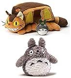 GUND Totoro 6' Plush Bundle with 10' Cat Bus House