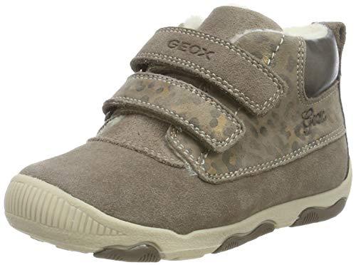 Geox Mädchen B New BALU' Girl A Sneaker, Grau (Smoke Grey C9006), 25 EU