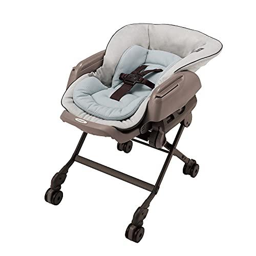 Combi(コンビ) ハイローチェア 新生児から4才頃 ネムリラ AUTO SWING LM ミントグレー ママの心拍数に近い周期でスイングする電動タイプ