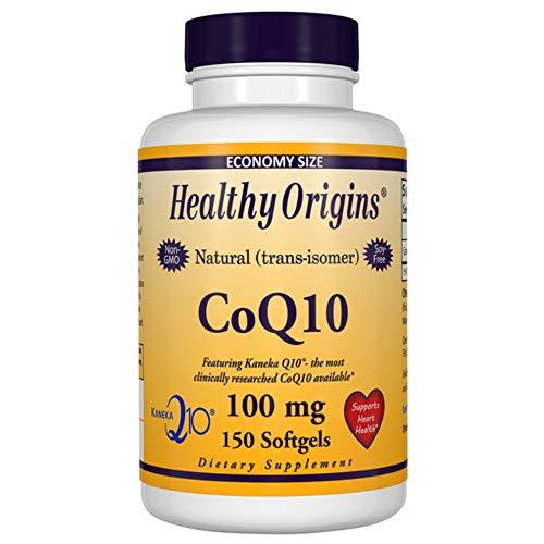Healthy Origins, CoQ10, Kaneka Q10, 100 mg, 150 Softgels