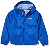 Columbia Boys Glennaker Rain Jacket, Waterproof & Breathable, Fuse Green, X-Large
