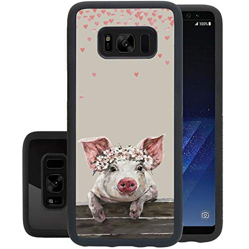 Samsung Galaxy S8 case Terrific Pig Full Body Case Cover Screen Protector Heavy Duty Protection case Shockproof case for Samsung Galaxy S8