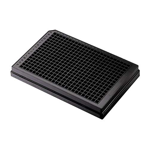 Corning 3575 Polystyrene Flat Bottom 384 Well Low Flange Microplate, Without Lid, NBS (Nonbinding Surface) Treated (Case of 50)