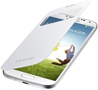 SAMSUNG GALAXY S4 SC-04E用 純正ケース S View Cover ホワイト EF-CI950KWEGN