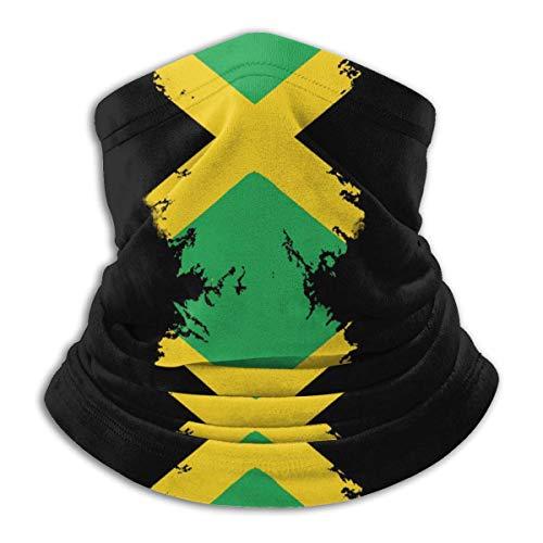 Xian Shiy Multifunktionstuch Jamaika Fahnendruck In Nackenwärmer Winddicht Staubfrei Halsmanschette Antistatisches Skifahren Gesichtsschal Wärmefänger Sturmhaube Halbmaske Bandana
