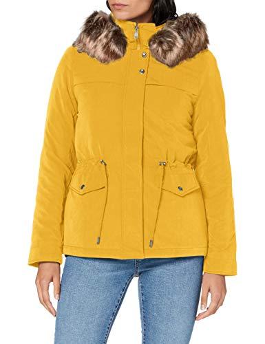 ONLY Damen ONLSTARLINE AW Parka CC OTW Jacke, Golden Yellow, XL