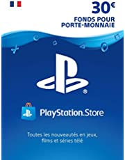 Carte PSN 30 EUR   Compte français   Code de téléchargement (PS5/PS4/PS3)
