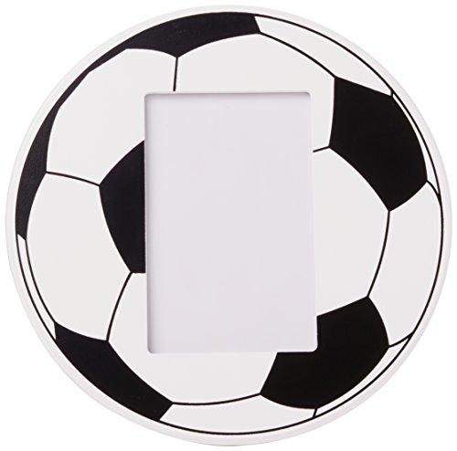 Zep Fútbol Vertical, Madera, Negro/Blanco, 24.5 x 24.5 x 2 cm