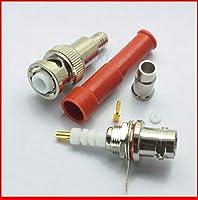 FENGYI KEJI 5pcs/lot BNC pair high voltage power RF connector MHV 3000V RG59 62