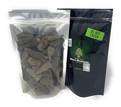 Premium Wild Dried Canadian Morel Mushrooms By Golden Tea Leaf Co - 2 oz. / 57g